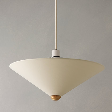 Buy John Lewis Easy-to-fit Uplighter Shade, Cream Online at johnlewis.com