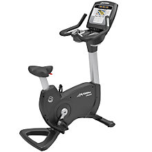 Buy Life Fitness Platinum Club Series Lifecycle Upright Exercise Bike, Inspire Console Online at johnlewis.com
