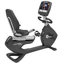 Buy Life Fitness Platinum Club Series Lifecycle Recumbent Exercise Bike, Engage Console Online at johnlewis.com