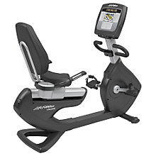 Buy Life Fitness Platinum Club Series Lifecycle Recumbent Exercise Bike, Inspire Console Online at johnlewis.com