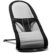 Buy BabyBjörn Babysitter Balance Bouncer, Black/Silver Online at johnlewis.com