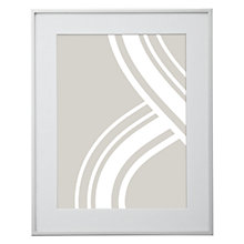 "Buy John Lewis Daya Flat Shiny Photo Frame, 6 x 8"" Online at johnlewis.com"