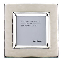"Buy John Lewis Amy Enamel Photo Frame, 2 x 2"" (5 x 5cm) Online at johnlewis.com"