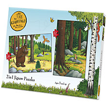 Buy 2 in 1 Gruffalo Jigsaw Puzzle, 24 Pieces Online at johnlewis.com