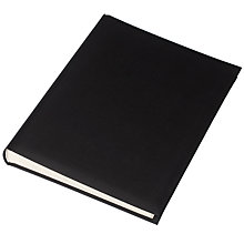 Buy John Lewis Linen Photo Album, Black, 30x23 Online at johnlewis.com