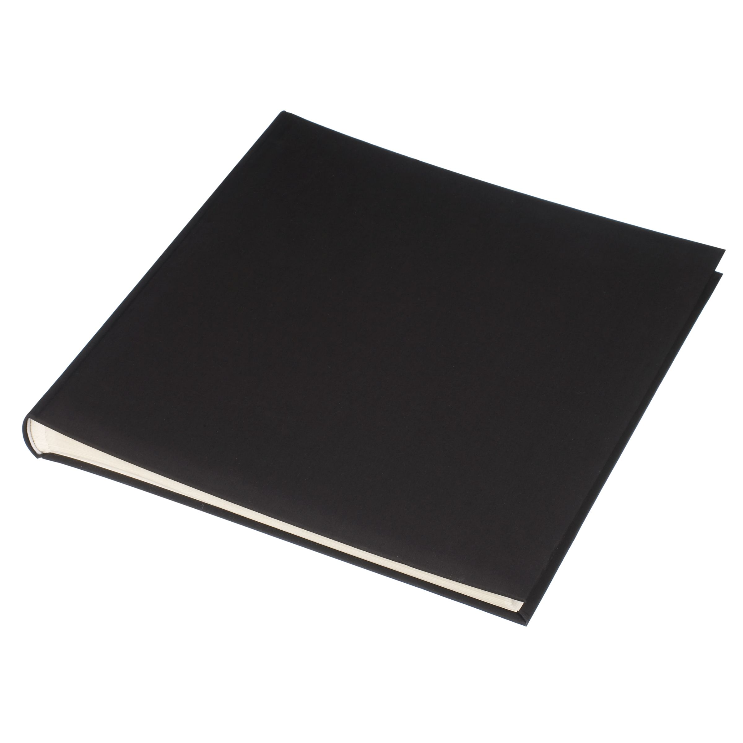 John Lewis Linen Photo Album, Black 167337