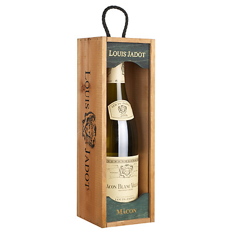 Buy Mâcon Blanc Villages Louis Jadot Single White Wine, Boxed, 75cl Online at johnlewis.com