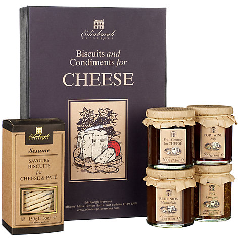 Buy Edinburgh Preserves Cheese Box Online at johnlewis.com