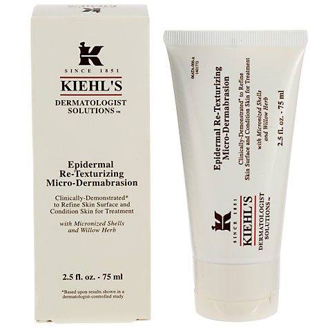 Buy Kiehl's Epidermal Re-Texturising Micro-Dermabrasion, 50ml Online at johnlewis.com