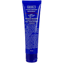 Buy Kiehls Ultimate Brushless White Eagle Shaving Cream, 150ml Online at johnlewis.com