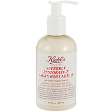 Buy Kiehl's Superbly Restorative Argan Body Lotion Online at johnlewis.com