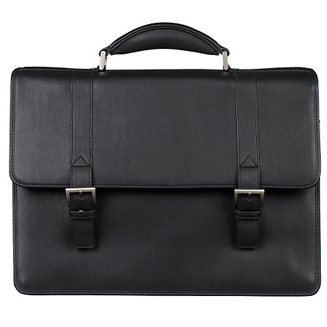 Buy John Lewis Dalaman Briefcase, Black Online at johnlewis.com