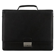 Buy John Lewis New Hampton Briefcase, Black Online at johnlewis.com