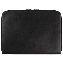 Buy John Lewis New Venus Underarm Folio, Black Online at johnlewis.com