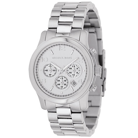 Buy Michael Kors MK5076 Women's Chronograph Bracelet Watch Online at johnlewis.com