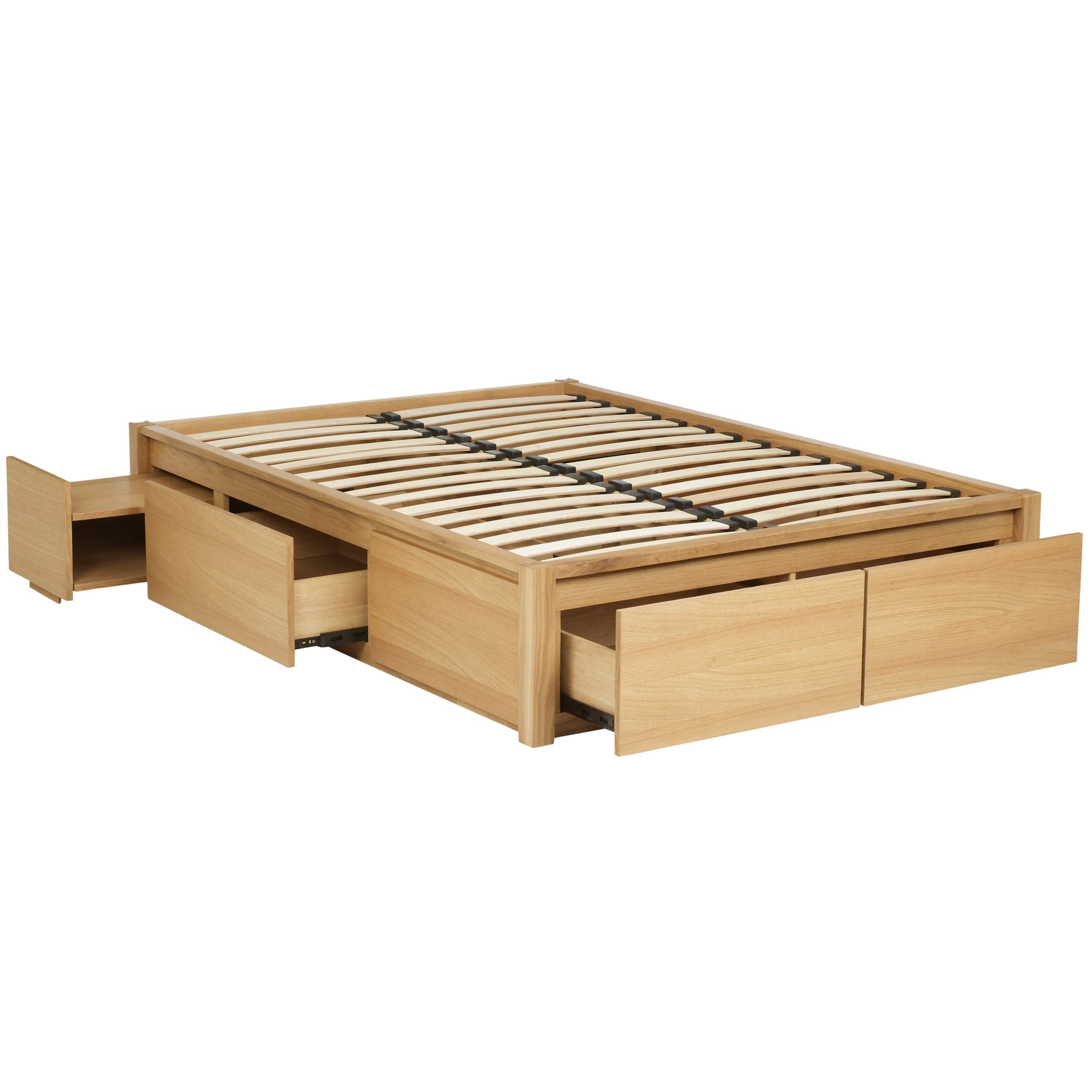 Platform Bed with Storage Drawers Plans