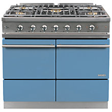 Buy Westahl Cluny WG1052GEBPRA Dual Fuel Range Cooker, Prussian Blue Online at johnlewis.com