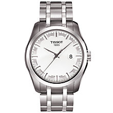 Buy Tissot T0354101103100 T-Trend Couturier Men's Braclelet Watch Online at johnlewis.com