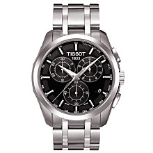 Buy Tissot T0356171105100 T-Trend Couturier Men's Chronograph Bracelet Watch Online at johnlewis.com