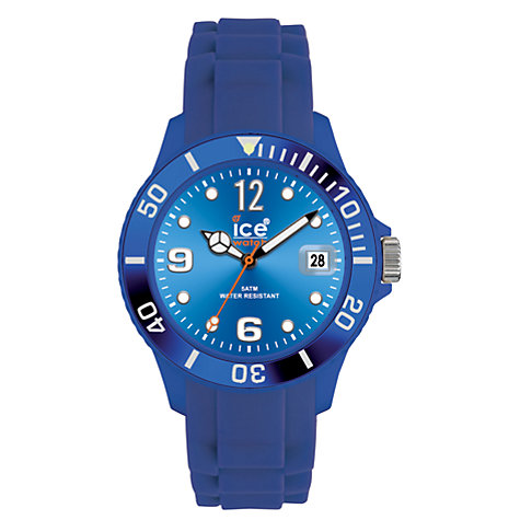Buy Ice-Watch SI-BE-B-S 'Sili' Big Unisex Watch, Blue Online at johnlewis.com