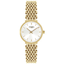 Buy Rotary LB00900/01 Women's Generalist Gold Bracelet Watch Online at johnlewis.com