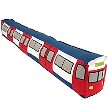 Buy John Lewis Underground Draught Excluder Train Online at johnlewis.com