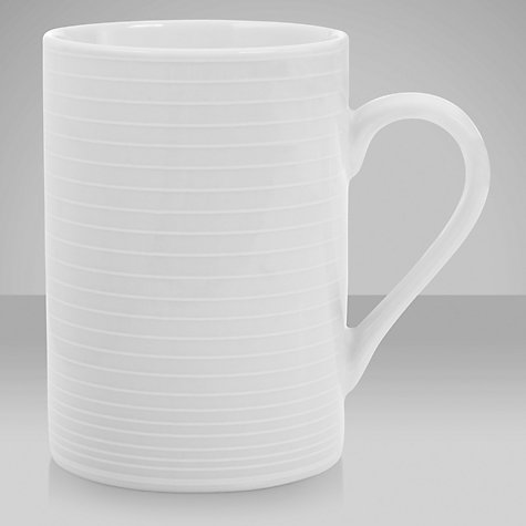 Buy John Lewis Value Porcelain Mug, White Online at johnlewis.com