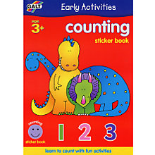 Buy Galt Early Activities Counting Sticker Book Online at johnlewis.com