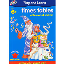 Buy Galt Play and Learn Times Tables Book Online at johnlewis.com