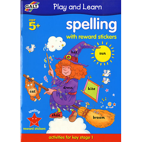 Buy Galt Play and Learn Spelling Book Online at johnlewis.com