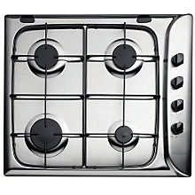 Buy Hotpoint G640SX Gas Hob, Stainless Steel Online at johnlewis.com