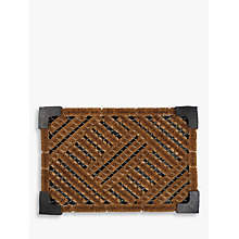 Buy John Lewis Coir Door Butler, Natural, L60 x W40cm Online at johnlewis.com