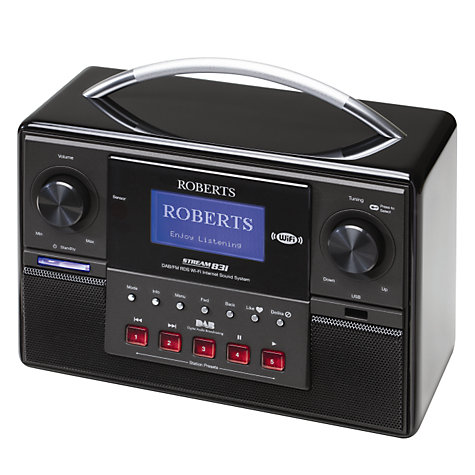 Buy ROBERTS Stream 83i DAB Internet Radio Online at johnlewis.com