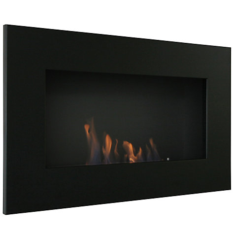 Buy Decoflame® New York Plaza Bioethanol Fire, Black Online at johnlewis.com