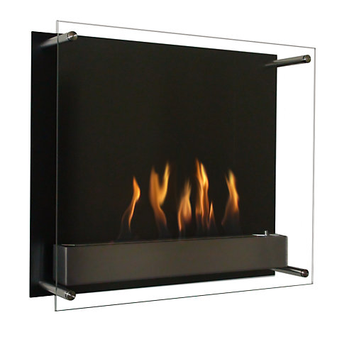 Buy Decoflame® Atlantic Bioethanol Fire, Black Online at johnlewis.com