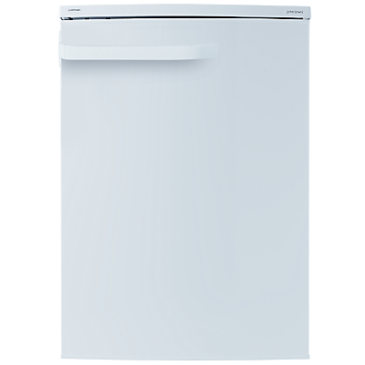 John Lewis JLUCFRW6004 Fridge with Freezer Compartment, A+ Energy Rating, 60cm Wide, White