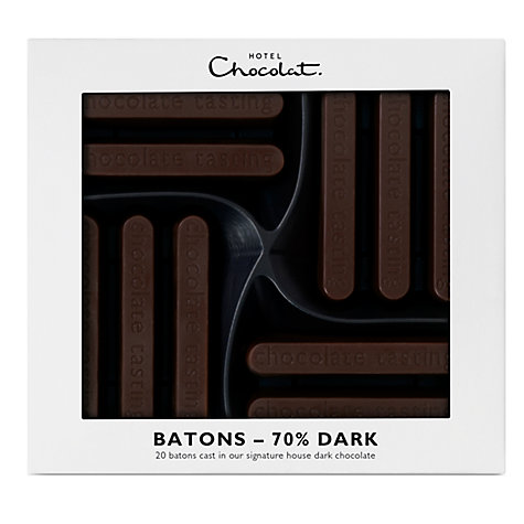 Buy Hotel Chocolat Dark Chocolate Batons, 170g Online at johnlewis.com