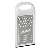 Buy John Lewis The Basics Flat Grater Online at johnlewis.com