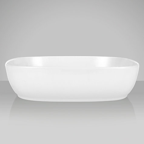 Buy Denby White Squares Serving Bowl, 36.5 x 36.5cm Online at johnlewis.com