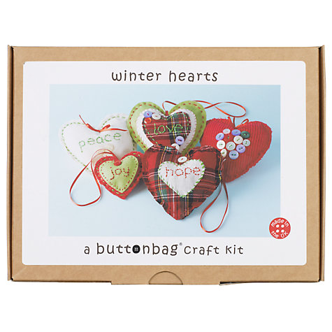 Buy Buttonbag Love Hearts Kit Online at johnlewis.com