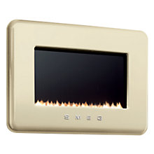 Buy Smeg L30FABCRP Flueless Gas Fire, LPG, Cream Online at johnlewis.com