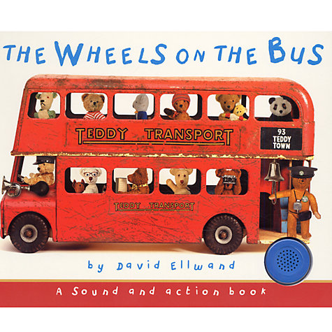 Buy The Wheels on The Bus (A Sound And Action Book) Online at johnlewis.com
