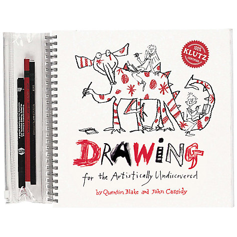 Buy Drawing for the Artistically Undiscovered Book Online at johnlewis.com