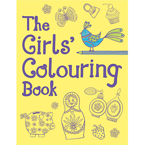 Buy The Girls' Colouring Book Online at johnlewis.com