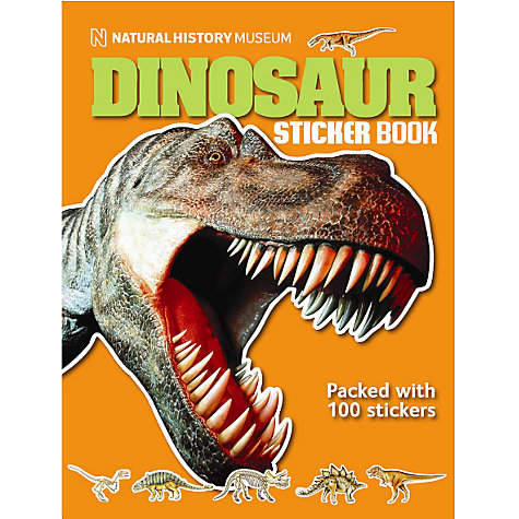 Buy Dinosaur Ultimate Sticker Book Online at johnlewis.com