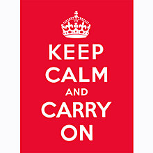 Buy Keep Calm And Carry On Book Online at johnlewis.com