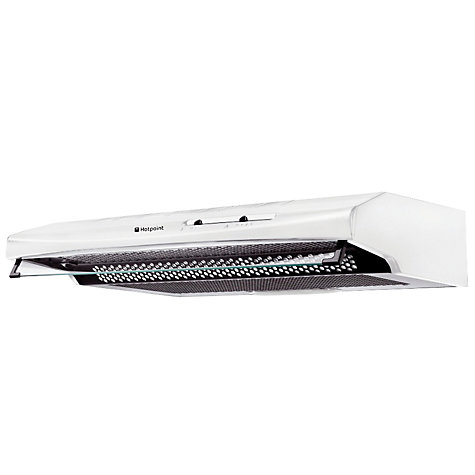 Buy Hotpoint HTV10P Cooker Hood, White Online at johnlewis.com