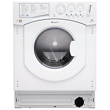 Buy Hotpoint BHWD149 Integrated Washer Dryer, 7kg Wash/5kg Dry Load, A Energy Rating, 1400rpm Spin Online at johnlewis.com
