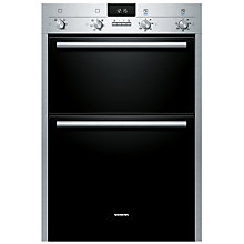 Buy Siemens HB43MB520B Double Electric Oven, Stainless Steel Online at johnlewis.com