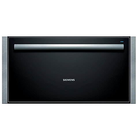 Buy Siemens HW290562B Built-In Warming Drawer, Stainless Steel Online at johnlewis.com